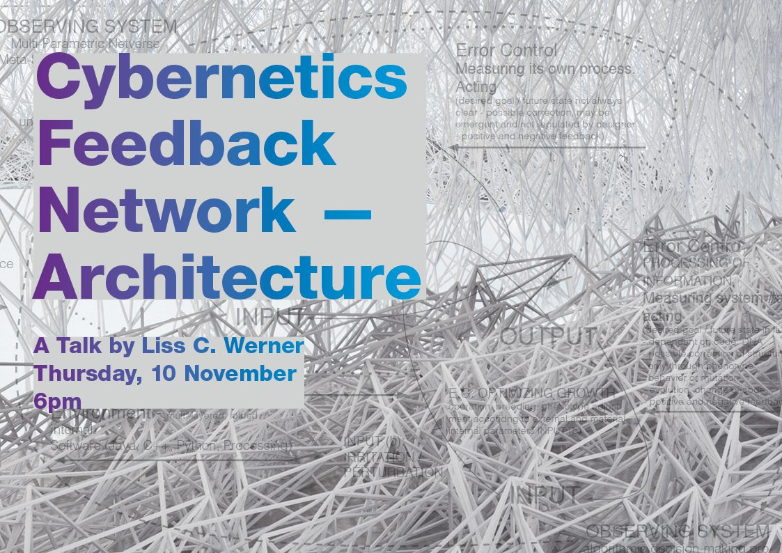 Cybernetics Liss C Werner Talk at ZHA